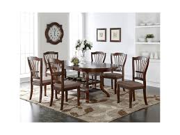 dining table with 10 chairs new classic bixby 7 piece dining table set with wine bottle