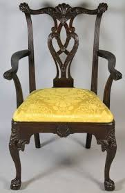 carved mahogany chippendale style chair foter