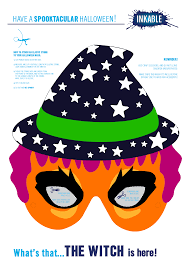 have a spooktacular time with free printable halloween masks from