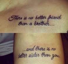 image result for quotes about brothers tattoos