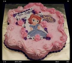 69 best sofia the first birthday cakes images on pinterest