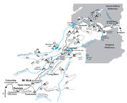 Snowmobile Trail Maps Michigan by Stanislaus National Forest Winter Sports Snowmobiling
