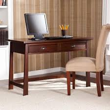 Espresso Desk With Hutch Computer Desks With Hutch From Computerdesk Com