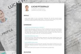 modern resume template free free modern resume templates