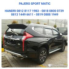 pajero sport mitsubishi pos pengumben pajero sport automatic dealer mitsubishi 081281171983