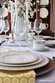 Setting Table 529 Best Table Settings And Decorations Images On Pinterest