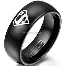superman wedding ring unique tungsten superman wedding ring ricksalerealty