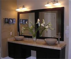 Bathroom Vanity Mirror With Lights Bathroom Cool Single Vanity Bathroom Mirror Ideas Pinterest