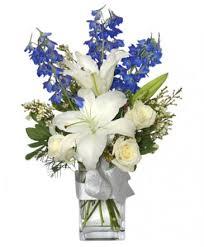 auburn florist crisp winter skies flower arrangement in auburn ma auburn florist