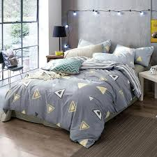 triangle bedding wongsbedding 4pcs 100 cotton triangle duvet cover sets quality