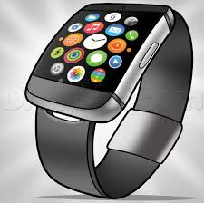 how to draw the apple watch iwatch step by step fashion pop