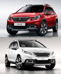 peugeot jeep 2016 2016 peugeot 2008 u2013 old vs new