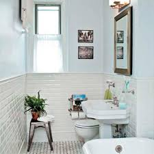 fashioned bathroom ideas bath gets a classic redo 1920s style 1920s style 1920s and walls