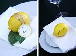 Dressing Your Table With Lemons Emmalee Elizabeth Design - Design a table setting