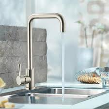 robinet cuisine moderne moderne style 304 chalet acier inoxydable robinet d eau chaude et