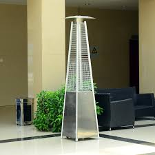 Stainless Steel Patio Heaters by Outsunny Pyramid Patio Heater φ18 2x13 4h Cm Stainless Steel