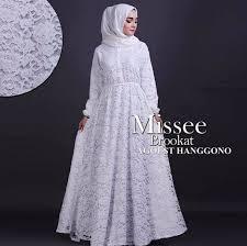 Baju Muslim Brokat model baju muslim syar i brokat fashion remaja 2018