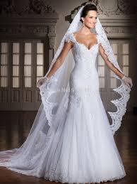 wedding dresses v neck mermaid high cut wedding dresses