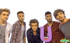 one direction sings about the letter u0027u u0027 on sesame street ew com