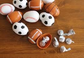 sports easter eggs unique easter treats for men evite