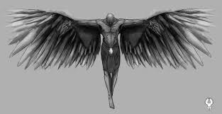 photo collection fallen angel tattoo designs