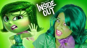 Inside Out Disgust Makeup Tutorial Cosplay Halloween Costume