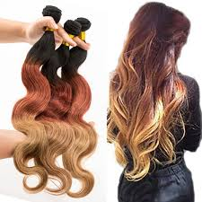 ombre hair extensions uk 3tone ombre brazililan remy hair extensions uk yj china