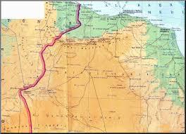 Map Of Libya Libyana Libya Maps In English