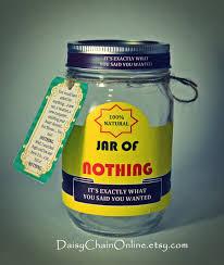 s birthday gift ideas printable labels for diy jar of nothing diy