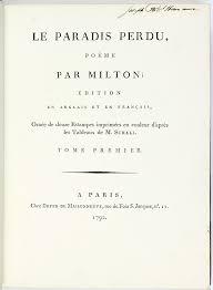 Couleurs En Anglais Francais Le Paradis Perdu Poëme Par Milton édition En Anglais Et En