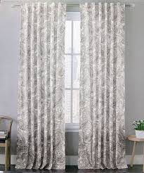 96 inch blackout curtains blackout curtains 96 inches long envogue gray vintage paisley window