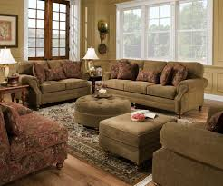 Chenille Reclining Sofa by Simmons Mathias Sofa Love Seat Chair Ottoman 4 Pc Chenille