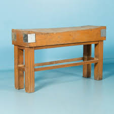 work tables scandinavian antiques early 20th century antique french maple butcher s block
