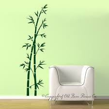 great bamboo wall decals home design 937 bamboo wall decal large vinyl wall decals by oldbarnrescuecompany