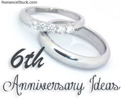 6th anniversary gifts for 1st anniversary ideas romancefromtheheart