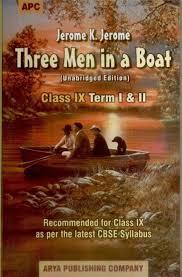 three men in a boat term i u0026 ii class 9 1st edition buy