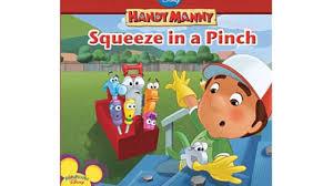 squeeze pinch disney handy manny book