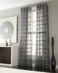 Bedroom With Grey Curtains Decor Image Of Bedroom Decorating Design Ideas Using Geometric
