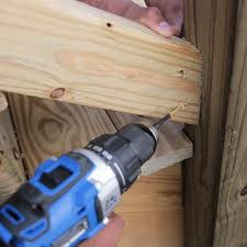 How To Install A Banister How To Build A Deck Wood Stairs And Stair Railings