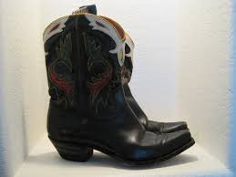 s boots cowboy my vintage 40 s acme wee leather enlayed cowboy boots