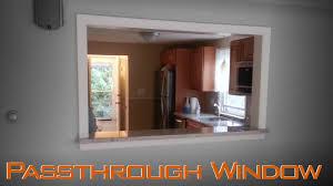 kitchen kitchen pass through windows kitchen pass through window