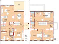 4 Bedroom Bungalow Floor Plans 4 Bedrooms In Less Than 1300 Square Ft Breezewood Rustic Home