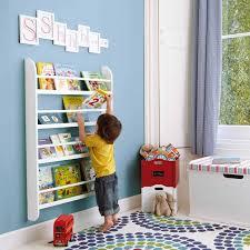 White Bookcase Ideas Forward Facing Bookshelf Ideas U2013 Cool Kids Room Furniture Design