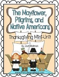 the mayflower pilgrims and americans a thanksgiving mini