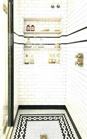 bathroom niche ideas shower tile niche shower niche tile unfinished edge subway tile