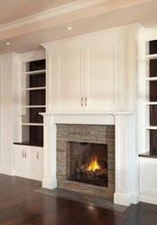 Built In Bookshelves Around Fireplace by This Combined With A Simpler Mantel And Built In Bookshelves