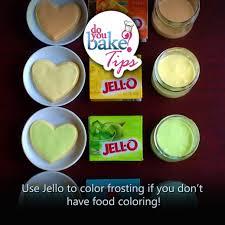 jello to color frosting u2013 do you bake
