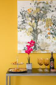 color of the year honey glow de5354 abstract paintings