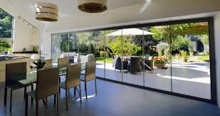 Interior Bifold Doors With Glass Inserts Decor Frameless Clear Glass Bifold Doors For Amaazing Patio Door