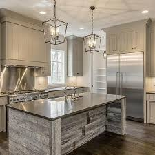 wood kitchen island gray reclaimed wood kitchen island design ideas